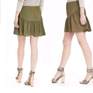 💥NWT💥 BANANA REPUBLIC olive skirt sz XL RV $78!